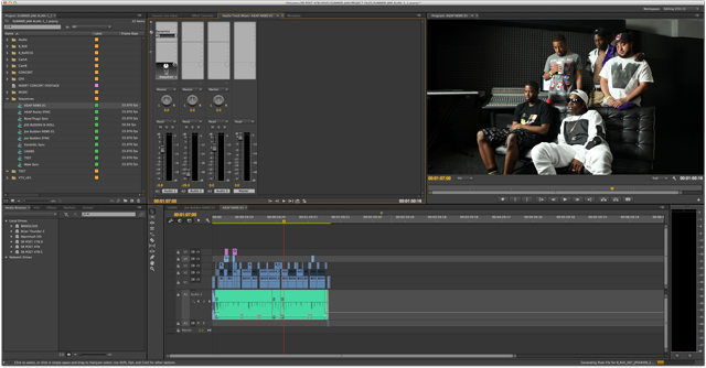 Cutting‐edge post production house switches to Adobe Creative Cloud video workflow 9