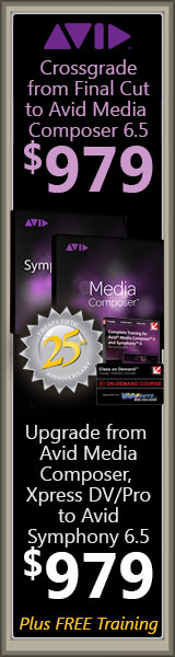 Videoguys' Guide to the Avid 25th Anniversary Crossgrade and Upgrade offers!! 3