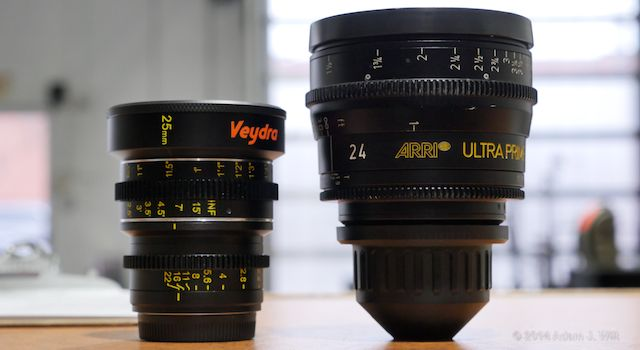 25mm Veydra vs. 24mm Ultra Prime