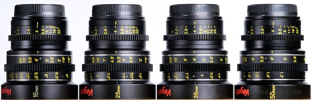 Right side of the Veydras: 16mm, 25mm, 35mm, 50mm.