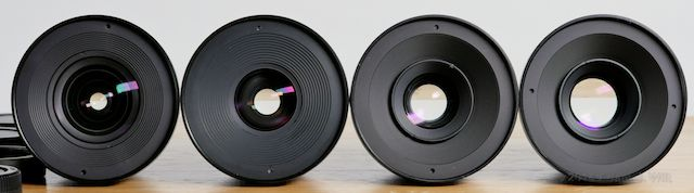 Veydras, wide open: 16mm, 25mm, 35mm, 50mm.