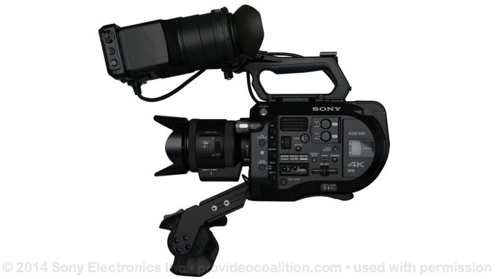 122 Slides on the Sony PXW-FS7 66