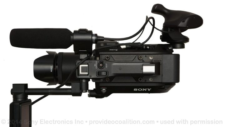 122 Slides on the Sony PXW-FS7 68