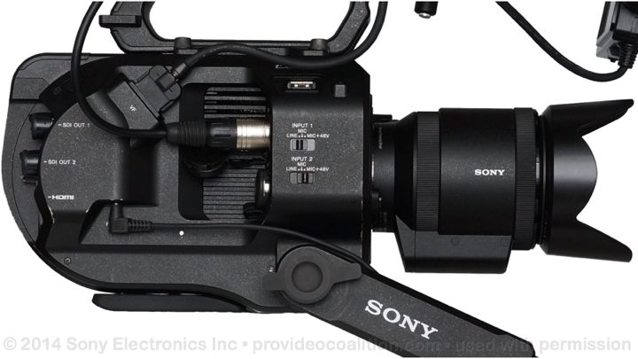 122 Slides on the Sony PXW-FS7 69