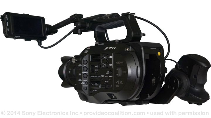 122 Slides on the Sony PXW-FS7 80