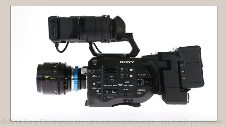 122 Slides on the Sony PXW-FS7 83