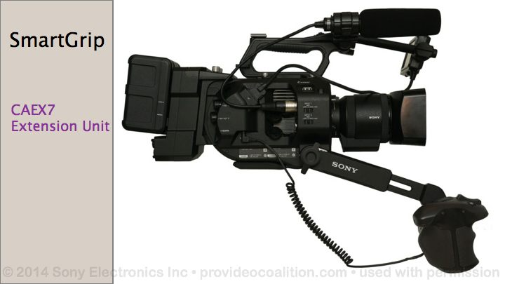 122 Slides on the Sony PXW-FS7 84