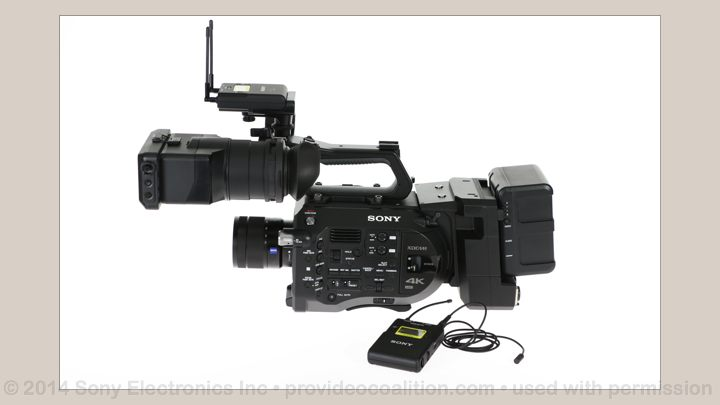 122 Slides on the Sony PXW-FS7 103