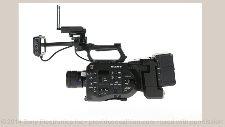 122 Slides on the Sony PXW-FS7 104