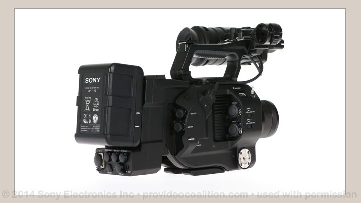 122 Slides on the Sony PXW-FS7 107