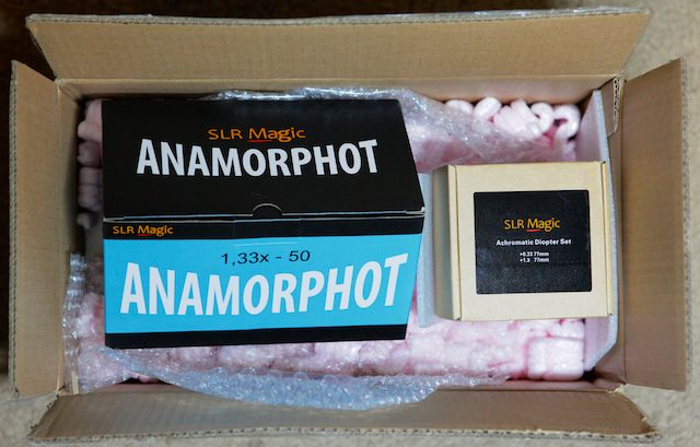 Entering Production: SLR Magic ANAMORPHOT 1,33x 50 5