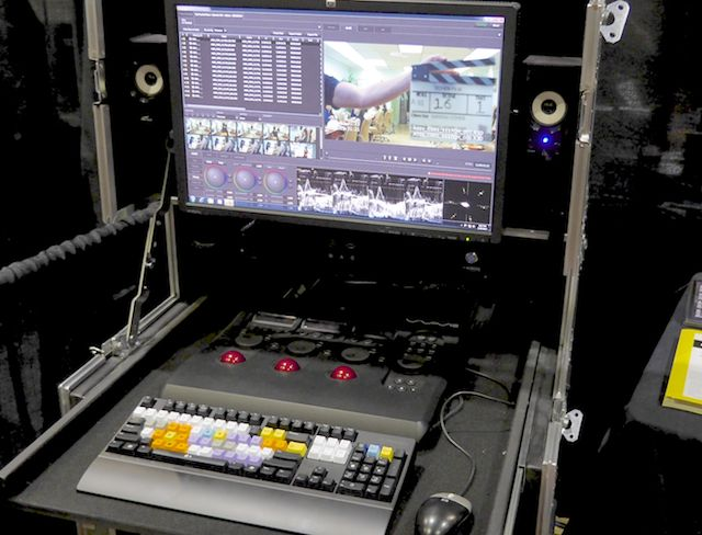 MTI Film's Control Dailies portable system.