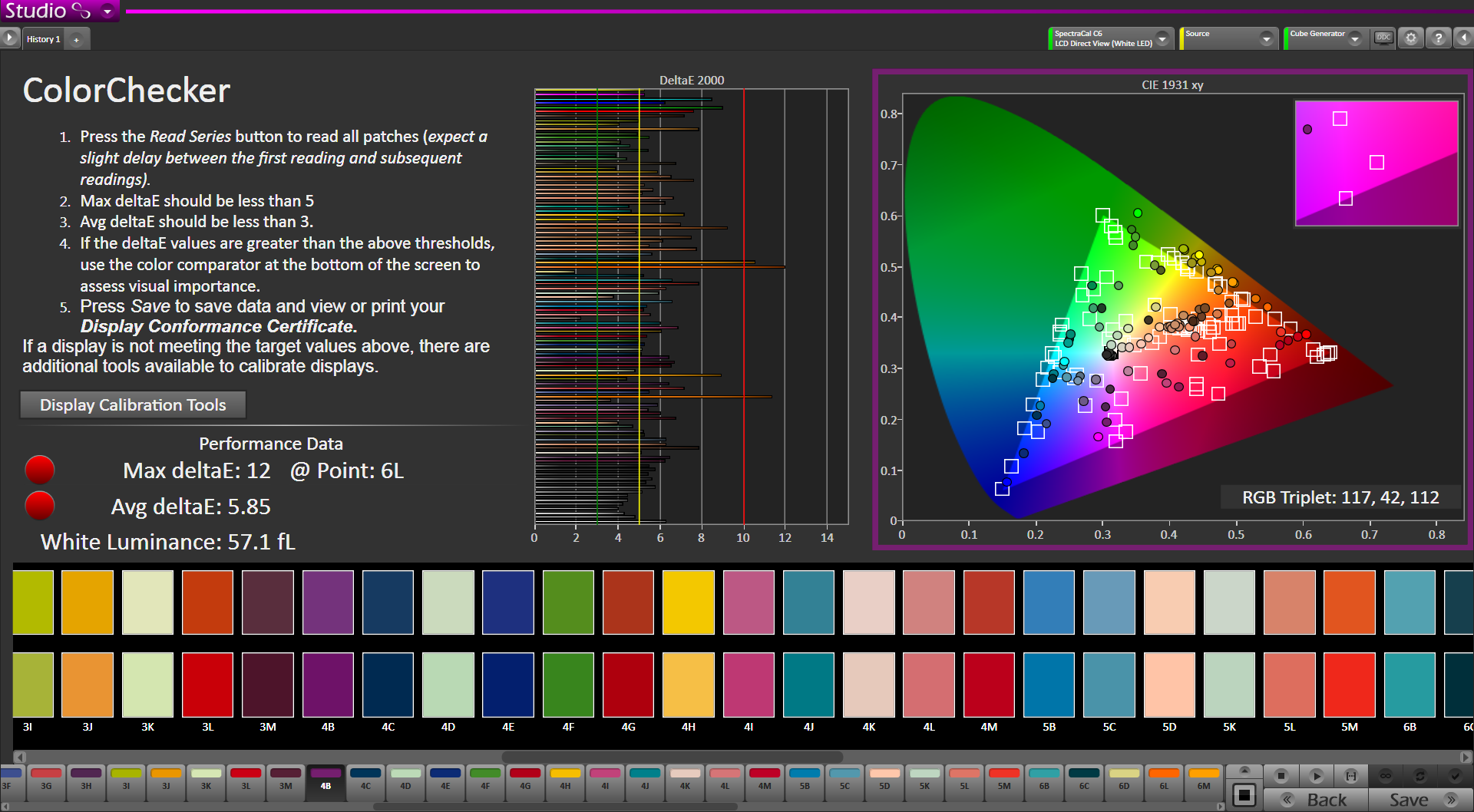 SpectraCal Releases Free ColorChecker Software 7