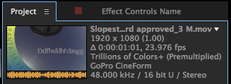 Cineform in Creative Cloud: render quality settings + more 6