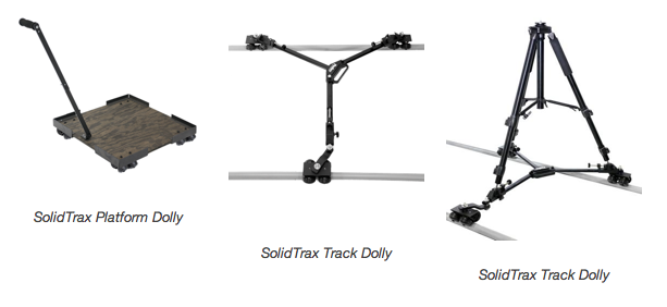 ProAm USA Lends Camera Enthusiasts Support with The New SolidTrax Dolly System 4