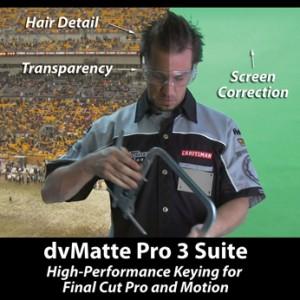 dvGarage Announces New Version of dvMatte Pro 3.0 Studio for Apple Final Cut Pro 5.1.2 and Motion 2 3