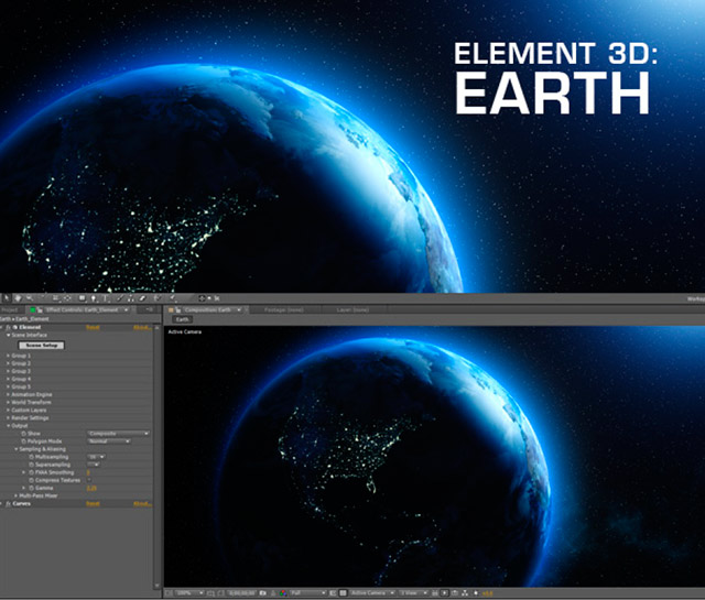 Tools and free models for Element 3D 5
