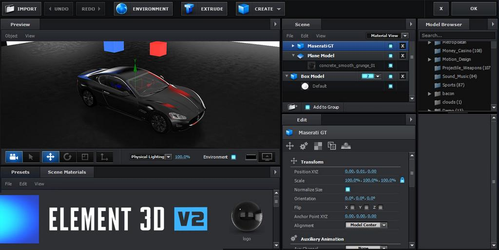 Video Copilot Element 3D v2 unveiled 6