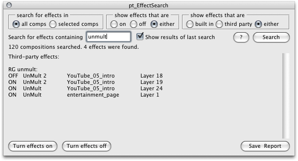 Tip: Locate Missing Effects in After Effects CS4 9