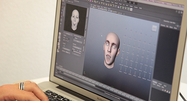 Markerless Facial Motion Capture with a Kinect by Eric