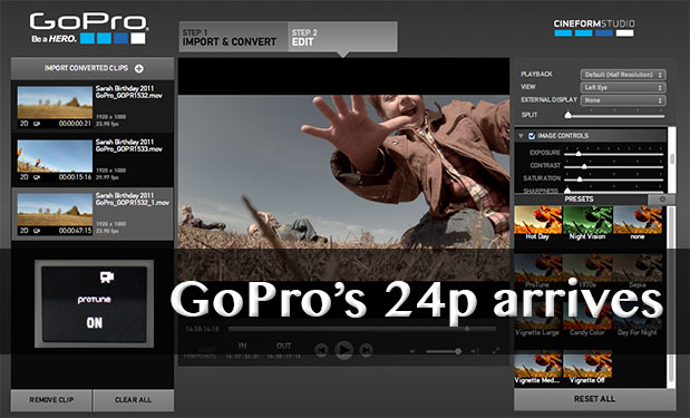 update gopro hero 2 software