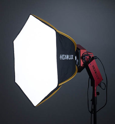Product Review: Hexolux D7 LED Fresnel Light 15
