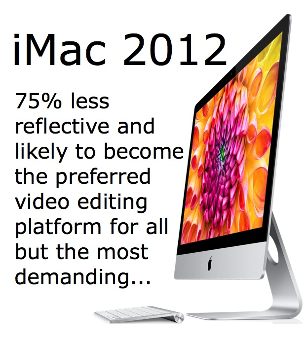 The iMac 2012 is finally for sale: a first look for video professionals 7