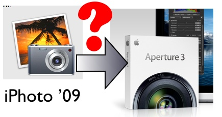 On iPhoto to Aperture 3 migration difficulties and new hard drives 3