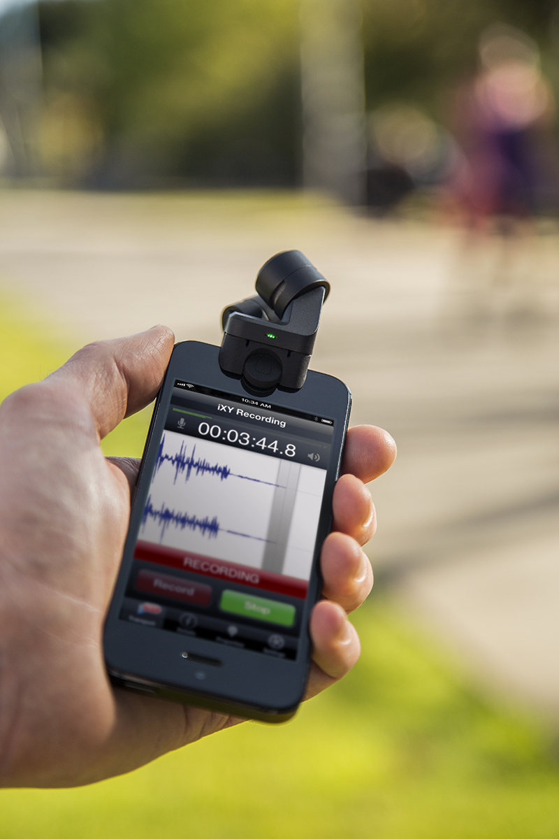 Announcing the New iXY Microphone for iPhone 5, 5S and 5C 4