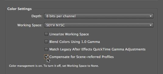 Scene vs. Display Referred Profiles 14
