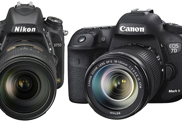 Canon EOS 7D MK II and Nikon D750: The Need for Speed by