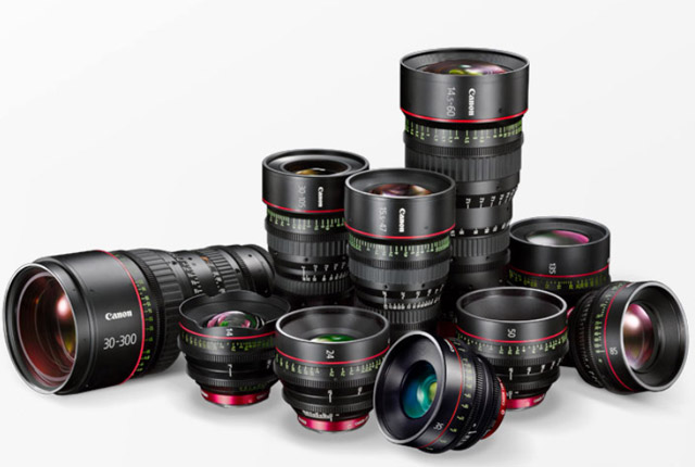 Canon: New Lenses for Video and a Storage Device 9