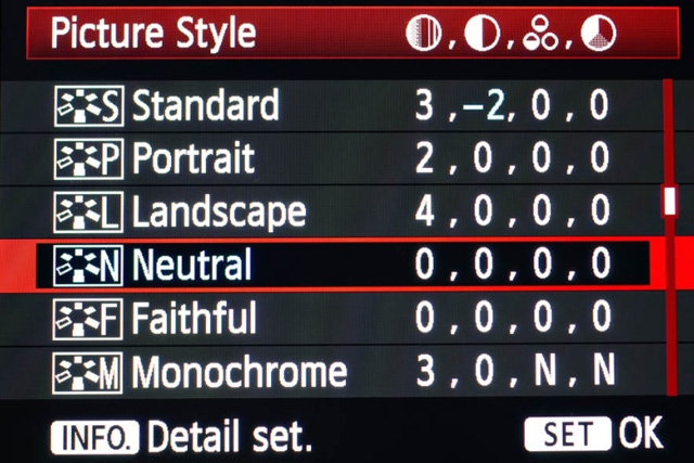 A Guide to Picture Profiles in DSLR Video 17