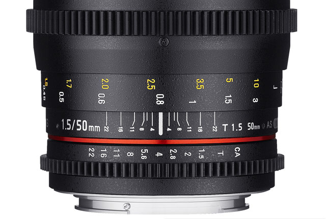 Samyang Has a New 50mm for Cinema 8
