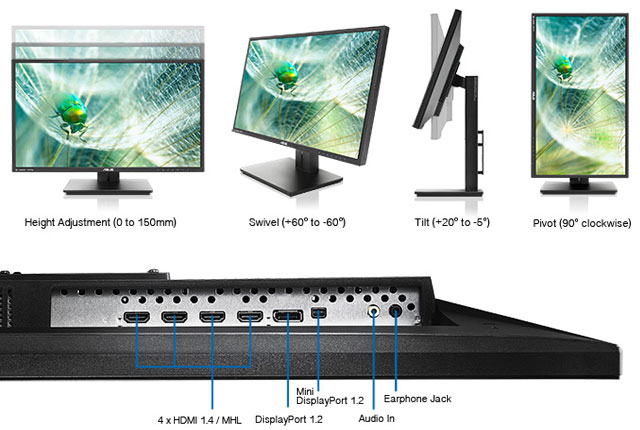 Asus 4K Monitor for Prosumers and Gamers 6