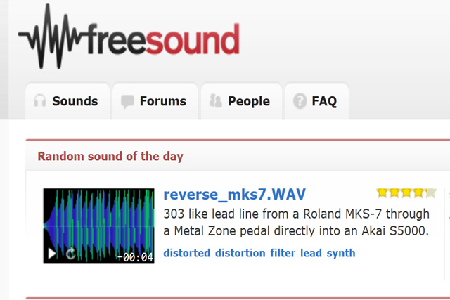 More Sources of FREE Music and Sounds 16