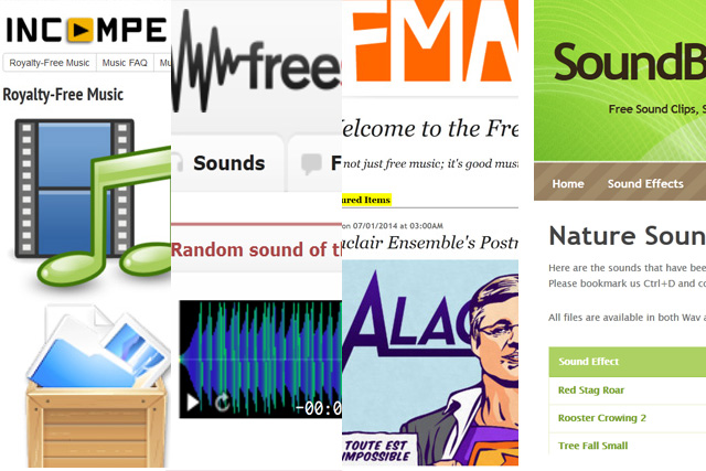 More Sources of FREE Music and Sounds 13