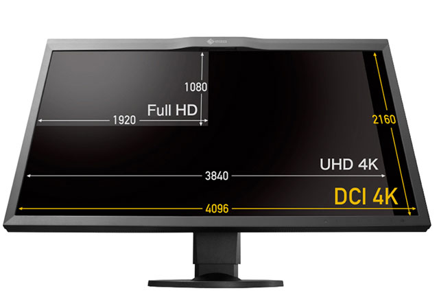 New EIZO 31-inch 4K Monitor Self-Calibrates 9