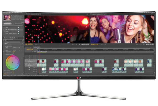 LG Shows Digital Cinema 4K Monitor 8