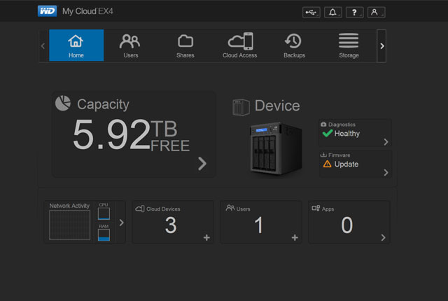 Review: MyCloud EX4, a NAS for Dummies 7