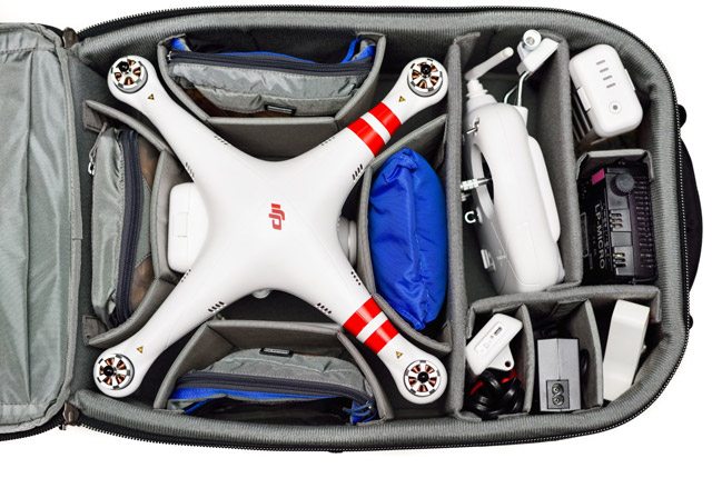 Think Tank Photo Releases Quadcopter Divider Kit 3