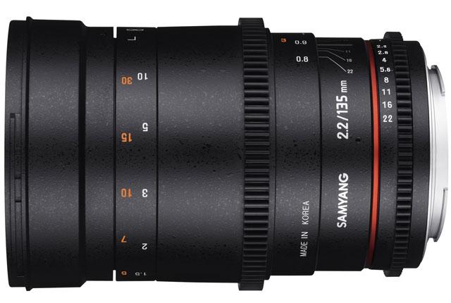 Samyang/Rokinon New 135mm T2.2 Cine Lens 9