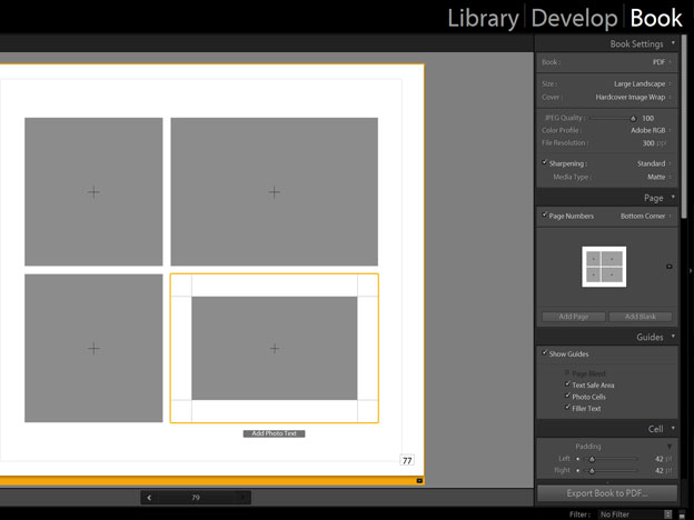 The Pros and Cons of Making Books in Lightroom 5 10