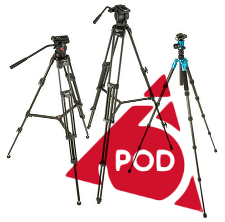 Newly-Released: 3POD Economy Portable Tripods for Photo and Video 75