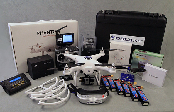 Product Review: DSLRPros Ultimate Cinema Edition Aerial Kit 1