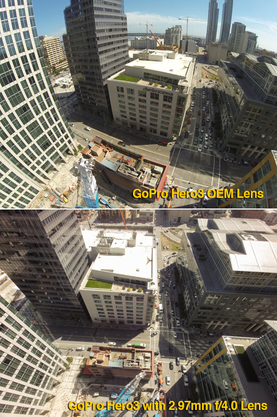 GoPro Replacement Lenses for Hero3/3+ Black from Peau Productions 16