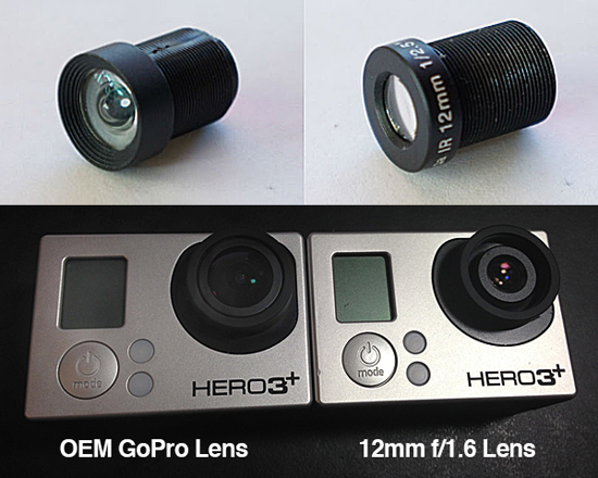 GoPro Replacement Lenses for Hero3/3+ Black from Peau Productions 13