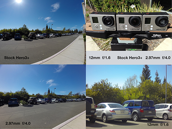 GoPro Replacement Lenses for Hero3/3+ Black from Peau Productions 15