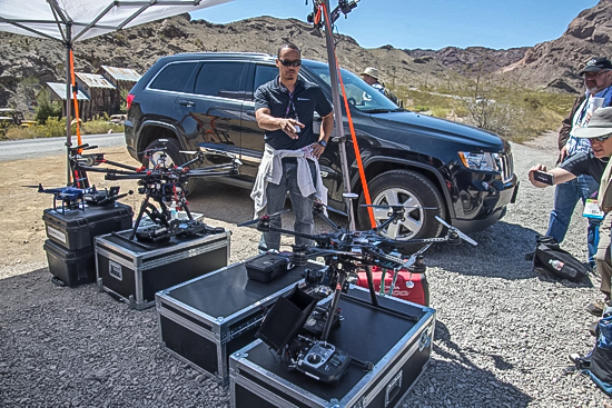 """NAB 2014 Aerial Videography & """"Drone"""" Overview 55"""