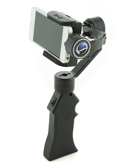 World's First 3-Axis Hand-Held Sub-Pixel Stabilizer for Smartphones! 3